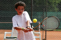 Horacio Vercher-Gieseler nutzt seinen Heimvorteil und gewinnt die Altersklasse Junioren U12