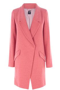 Oasis pink car coat
