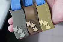Die Medaillen der U20-EM