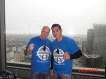 Ein starkes Team: Olaf Jessen und Jack Culcay (WBA-Interkontinentalmeister)