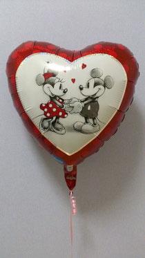 バレンタインデーバルーン ミッキー ミニー