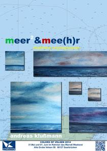 """Ausstellung """"meer²"""", in Vorbereitung"""