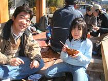 伐採見学会にて…2010.02.20
