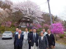 安全祈願 鳥居観音にて2012.4.20