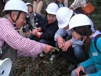 伐採見学会にて…2009.10.17