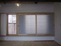 ソーラーウインドウ・木製内窓・太陽光温風・温風循環取込み