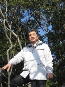 天覧山(飯能)山頂にて… 2013.02.01
