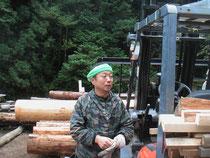 製材工場見学会にて…2009.10.17