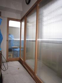 矩折りの窓・難しい窓でも取付可能