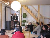 加藤木材工業主催・木の家だいすきの会共催パッシブリフォーム見学会