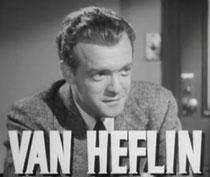 erster Marlowe-Radiosprecher: Hollywood-Star Van Heflin
