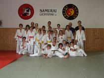 Die Kids des Samurai Lichtenau und SC Sand