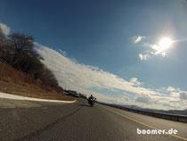 Motorradfahren in GT macht schon Spaß...