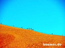 """""""Besteigung"""" des Uluru - aber ohne uns..."""
