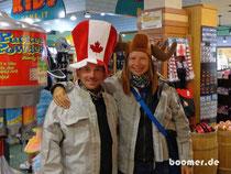 Ankunft in Kanada