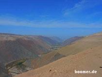 beeindruckende Täler in der Atacama