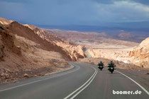 die Atacama-Wüste hat uns erstmal wieder
