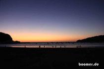 Sonnenuntergang in der Bucht von San Juan del Sur