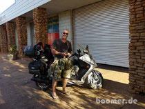noch ein Australien-Reisender auf 2 Rädern