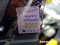 Warrant of Fitness in NZ