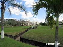 von hier aus wird Belize regiert