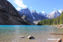 Idylle am Moraine Lake