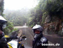Wasserfall auf dem Macquarie Pass