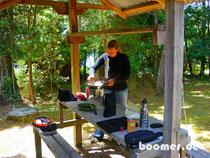 Camp-Küche