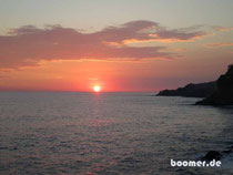 toller Sonnenuntergang inklusive