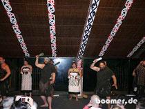 Traditioneller Tanz der Maori