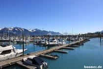Der Hafen von Seward