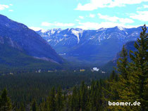 "der banff np CANADA   ""4 wheels move the body, 2 wheels move the soul"""