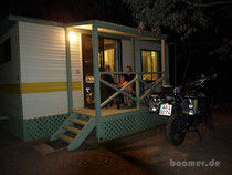 Luxus - eine klimatisierte Cabin