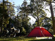 Camp im Gowrie Park