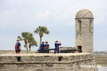 Saint Augustine, hier macht Amerika auf historisch