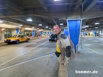 Miami - warten aufs Taxi