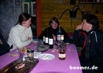 der chilenische Wein schmeckt allen...
