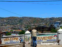 Aussicht auf Valparaiso
