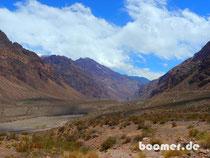 Andental zwischen Chile und Argentinien