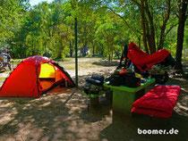 Camping Frühjahrsputz