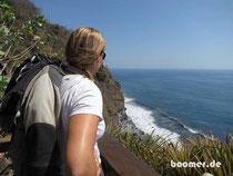 traumhafte Aussicht auf den Pazifik