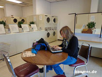 """Office-Time"" in der Laundry"