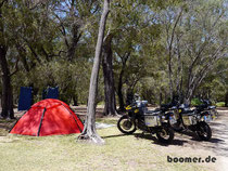 Camp in Busselton