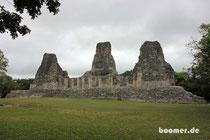 Die Ruine von Xpujil