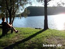 Sundowner am Hawkesbury River