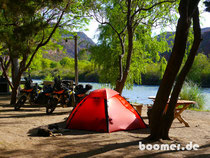Camp im Valle Grande