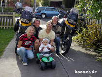 """unsere """"Gast-Familie"""" in Melbourne und unser neuer Tourguide Luis"""