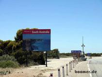 Willkommen in South Australia