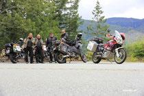 """Treffen """"on the road"""" - Canada ist ein Dorf..."""