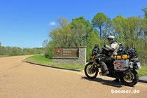 Frühling auf dem Natchez Trace Parkway